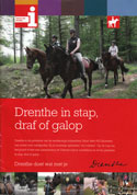 Drenthe in stap, draf of galop